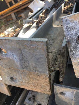 Vigas de acero galvanizado
