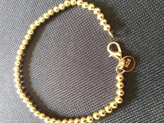 pulsera plata 925 y oro rosa