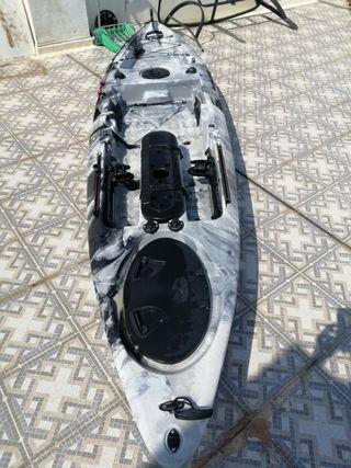 kayak pesca yukon
