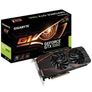 Tarjeta gráfica Geforce GTX 1060 G1 Gaming 6G