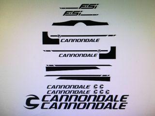 Kit pegatinas cannondale Fsi