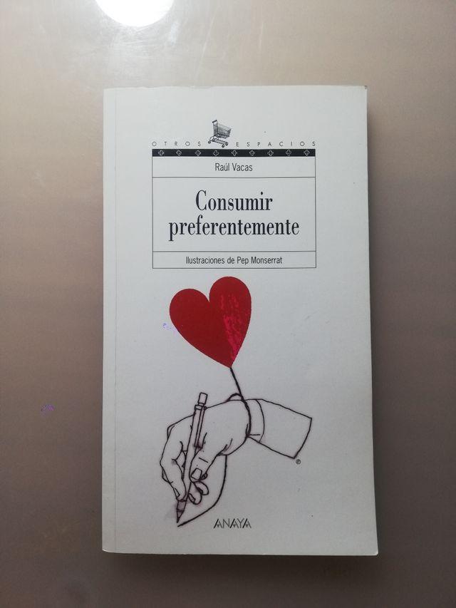 LIBRO LECTURA CONSUMIR PREFERENTEMENTE