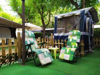 Parcela en Camping La Masia Blanes
