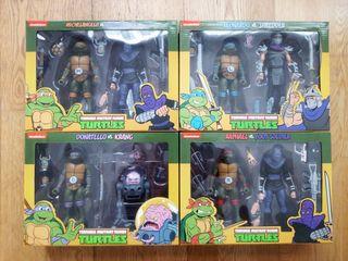 Tortugas ninja pack figuras
