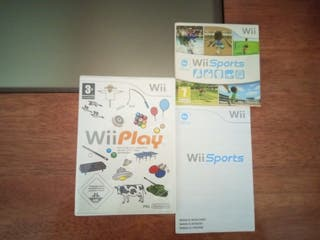 Wii Sports y Wii Play