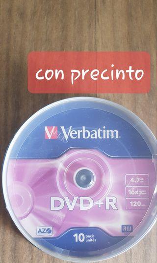 DVD virgenes