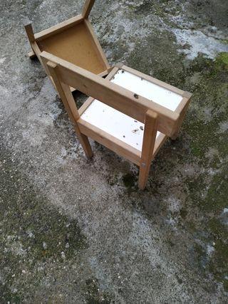 2 sillas niño