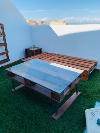 Pack terraza palets