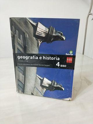 Libro SM 4ESO / Geográfica y historia