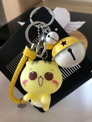 Porte-clés keychain llavero kawaii chat cat
