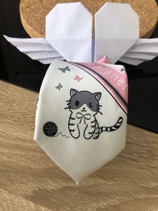 Cravate Tie lolita kawaii chaton little cat