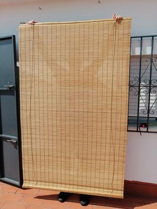estor enrrollable bambú grande