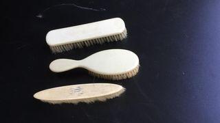 lote de cepillos de marfil