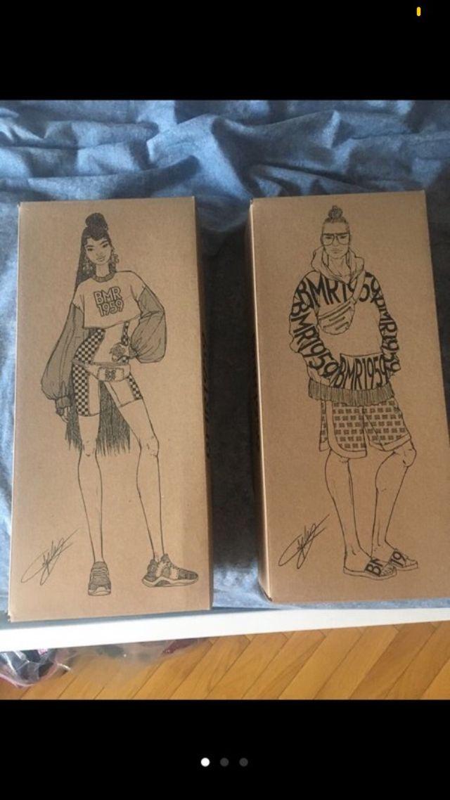 Vendo Solo caja de BMR 1959 (No muñecas)