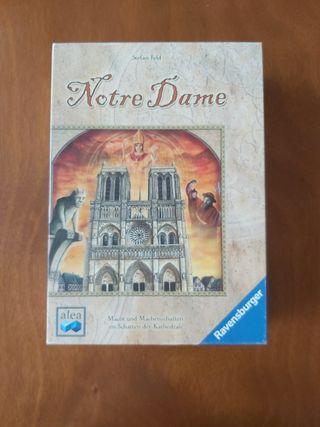Notre Dame Juego de mesa. Stephan Feld