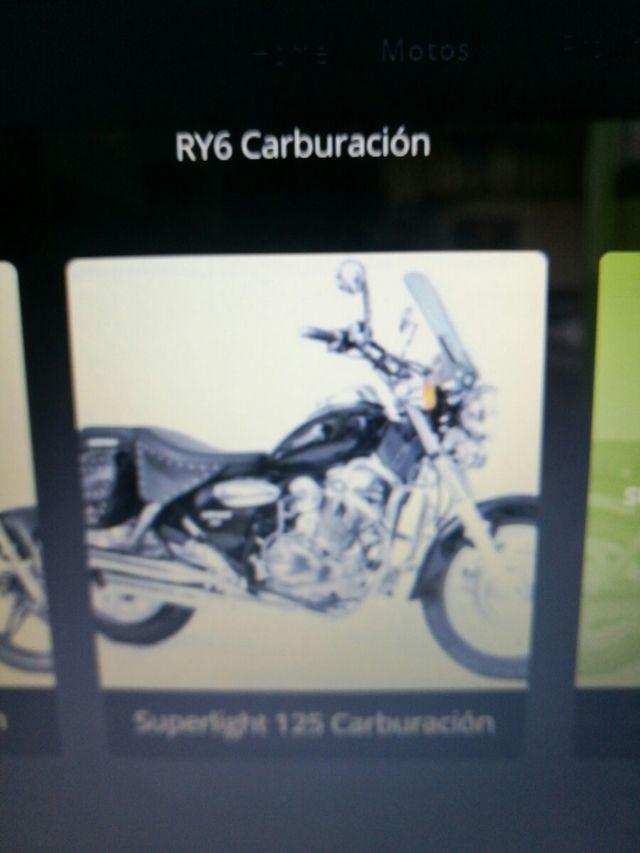 Pedal de Cambio Keeway Superlight 125