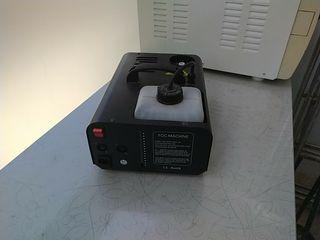 Maquina de humo 1500wattios.
