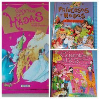 Hadas y princesas x 3