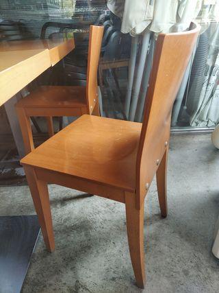 sillas macizas ondarreta
