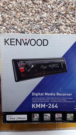 Radio coche (kenwood)