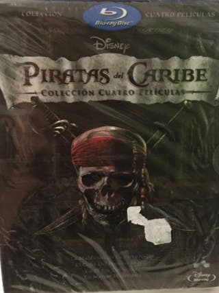 BLU-RAY - Pack Piratas del Caribe (1-4)