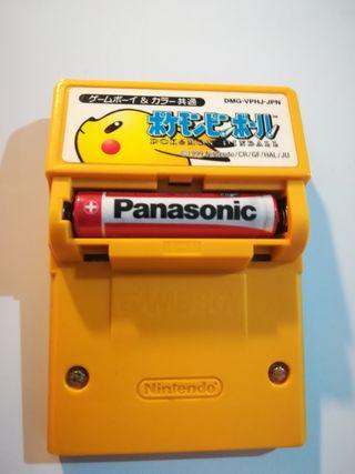 Pokémon Pinball edición japonesa para Game Boy