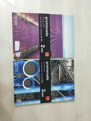 Libro SM Francés 2 y 3 ESO / Promenade