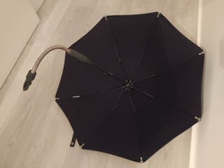 Sombrilla negra stokke