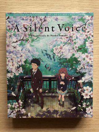 Blu-Ray A Silent Voice Ed. Coleccionista