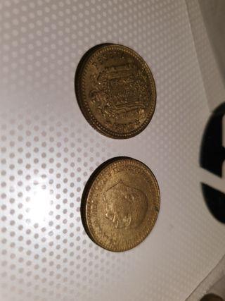 Monedas antiguos 1 peseta