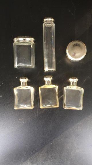 lote de frascos de colonia