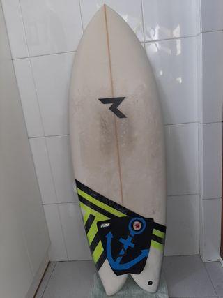 """Tabla de surf Twin fin Reel 5,2"""""""