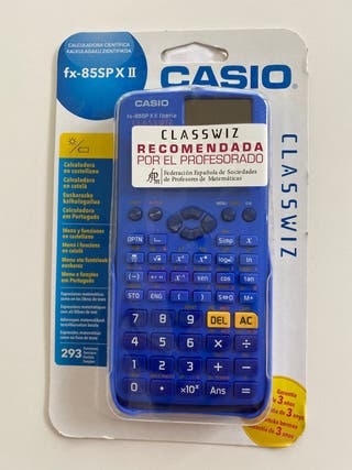 calculadora cientifica FX 85 Sp xII