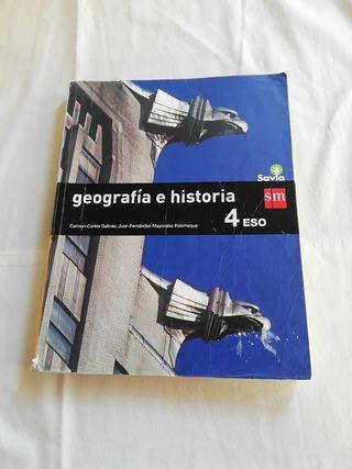 geografía e historia. 4 eso