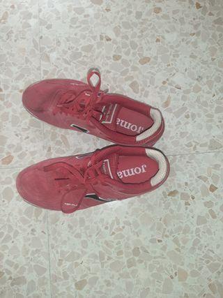 botas de futbol sala joma de piel