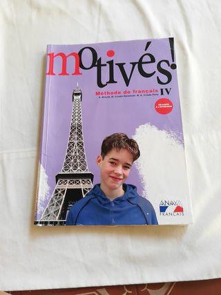 Motivés! libro de francés. 4 eso