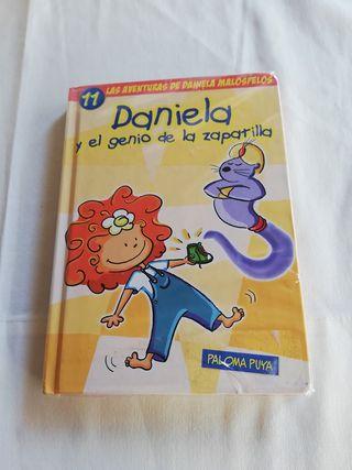 Daniela y el genio de la zapatilla.