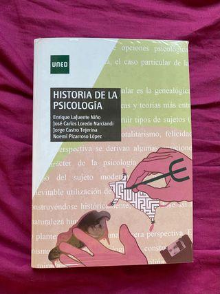 Libro HISTORIA de la PSICOLOGÍA UNED