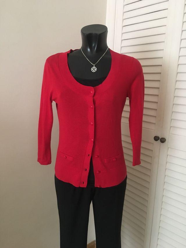 chaqueta roja MEXX