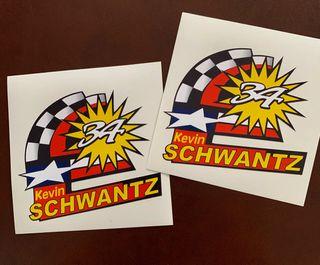 Pegatinas clásicas Kevin Schwantz