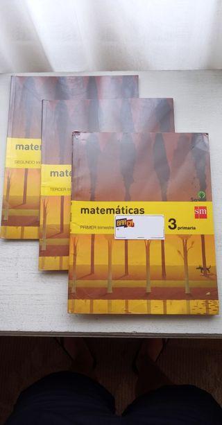 Libros Matemáticas 3ro Primaria Editorial SM