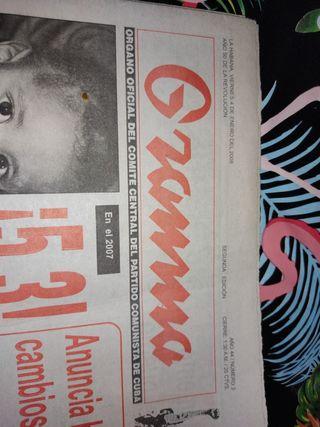 periódico grammma