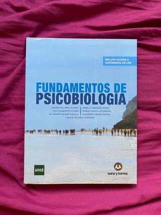 FUNDAMENTOS de PSICOBIOLOGÍA UNED