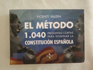 1040 preguntas Constitución Española