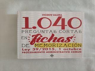 1040 preguntas Ley 39/2015 P. Administrativo