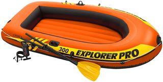 Kayak Hinchable con remos