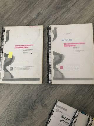 Libros 1 admn y dirección de empresa Pack de dos.