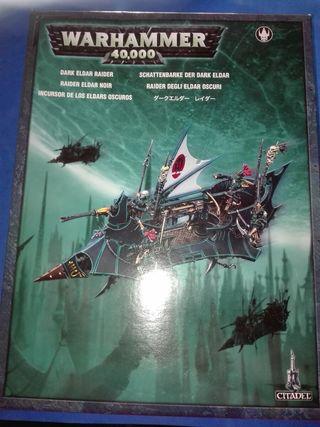 Warhammer 40000 incursor de los eldars oscuros