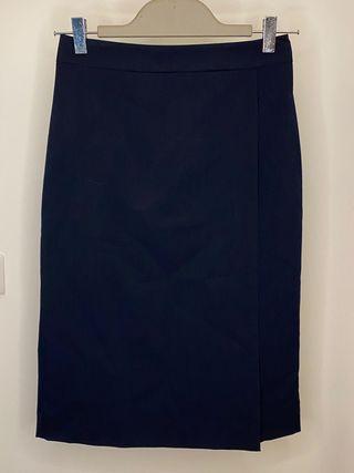 Navy blue pencil skirt (NEW)