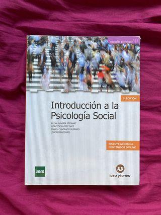 Libro PSICOLOGÍA SOCIAL + Cuaderno de inves UNED